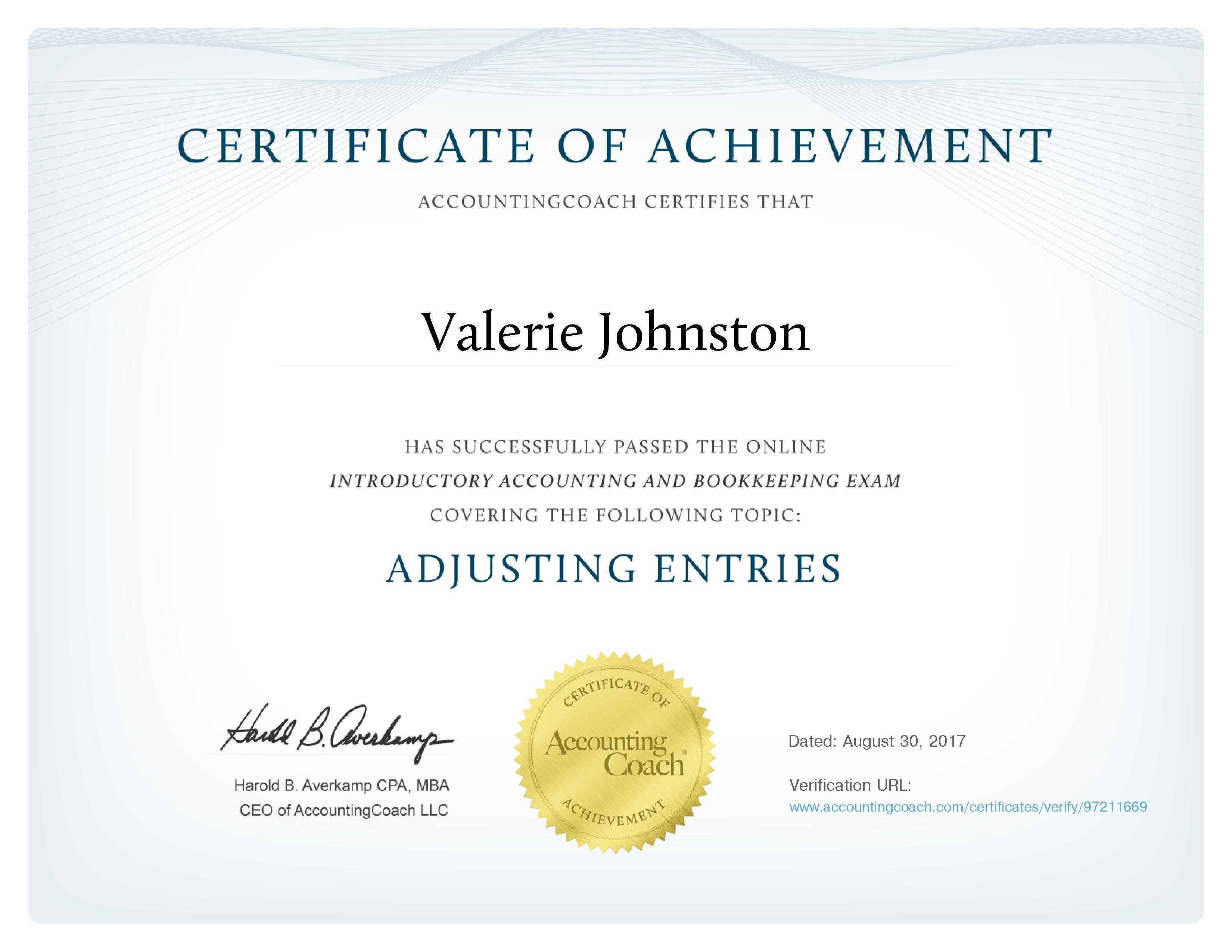 Southern Belle Bookkeeping Valerie Johnston Aicb